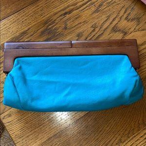Melie Bianco Vegan Leather Clutch